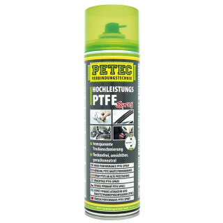Petec Hochleistungs PTFE Spray 500 ml