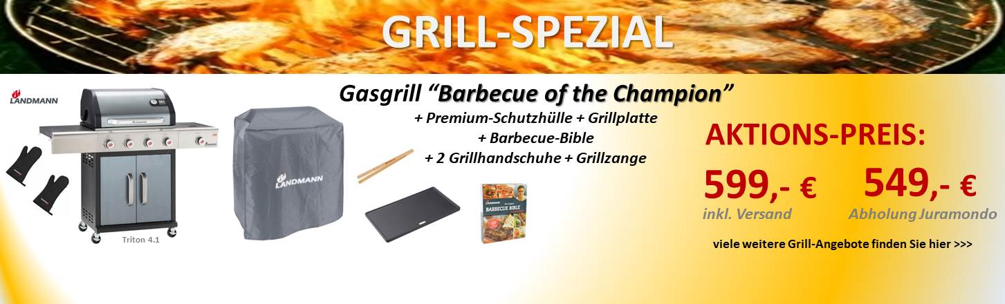 Landmann BBQ of the Champion Grill-Spezial