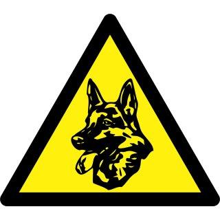 Pentatech Warnaufkleber Wachhund 3 Stück