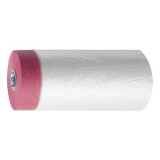 CQ Folie mit Spezialpapier-klebeband Rot 55 cm x 33 m