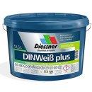 Diesco DIN Weiß Plus Wandfarbe Innenfarbe 5 Liter