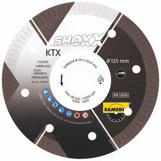 Samedia Shoxx KTX Diamant-Trennscheibe verschiedene Durchmesser