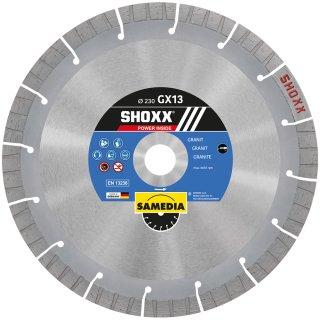 Samedia SHOXX GX13 Diamant-Trennscheibe verschiedene Durchmesser