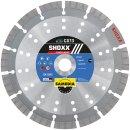 Samedia SHOXX GX13 SILENCIO Diamant-Trennscheibe 350 mm