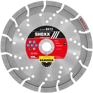 Samedia SHOXX BX13 Diamant-Trennscheibe verschiedene Durchmesser