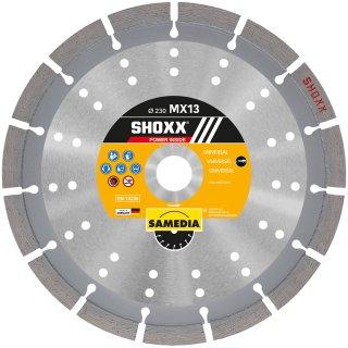 Samedia SHOXX MX13 Diamant-Trennscheibe verschiedene Durchmesser