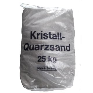 Quarzsand 9 Körnung 0,1-0,5 mm 25 Kg Sack