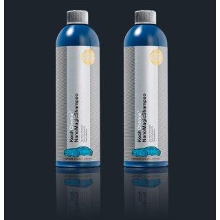 2 Stück Koch Chemie NanoMagicShampoo Nano Shampoo je 750 ml