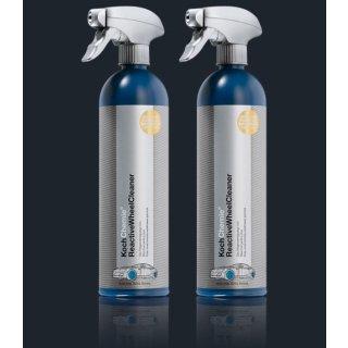 2 Stück Koch Chemie ReactiveWheelCleaner Felgenreinigungs-Gel je 750 ml
