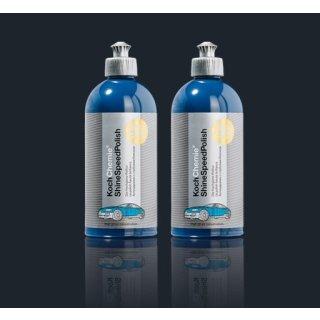 2 Stück Koch Chemie ShineSpeedPolish Hochglanz-Politur je 500 ml
