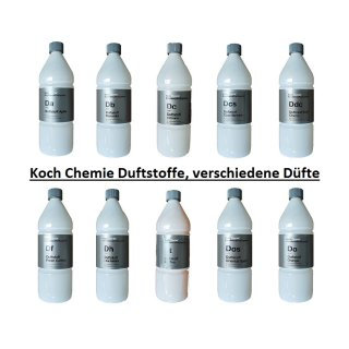 Koch Chemie Duftkonzentrate für Waschanlagen und Fahrzeuginnenraum