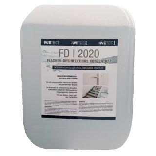 Iwetec FD I 2020 Flächen-Desinfektions Konzentrat 10 Liter
