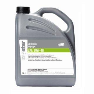 Repstar Motorenöl Premium 10W40, 5 Liter