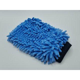 Juramondo Microfaser Waschhandschuh Oktopus Blau
