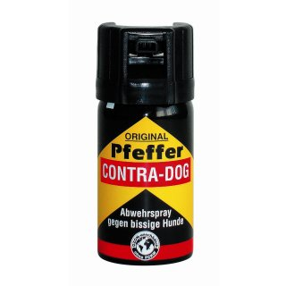 Pfefferspray Contra Dog 40ml Tierabwehrspray