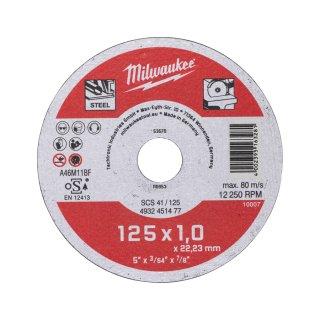 Metalltrennscheibe Contractor 125 mmSCS41 1 mm Contractor