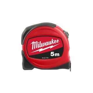 Milwaukee nicht-magnetisch, 19 mm breites Band Slim-Bandmaß 5 m