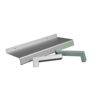 Aluminium Fensterbank silber EV1 380 mm Ausladung