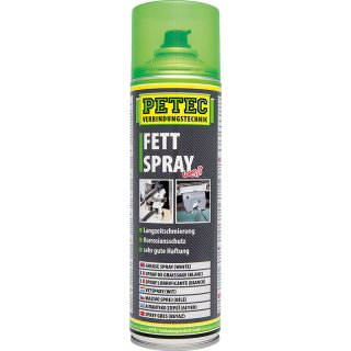 Petec Fettspray 500 ml