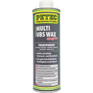 Petec Multi UBS Wax 1000 ml Saugdose Transparent