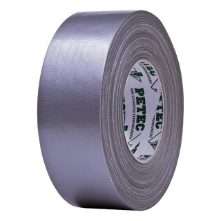 Petec Power Tape Panzerband Silber 50 mm x 50 m