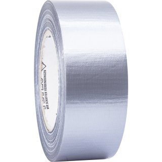 Petec Uni-Gewebeband Silber 48 mm x 50 m