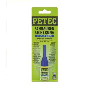 Petec Schraubensicherung mittelfest SB 5 g blau