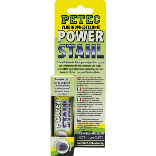 Petec Power Stahl Knetmasse 50 g