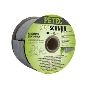 Petec Karoschnur Butyl schwarz 10 mm x 10 m