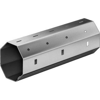 Achtkantwelle 60 x 0,6 mm Stahl verzinkt