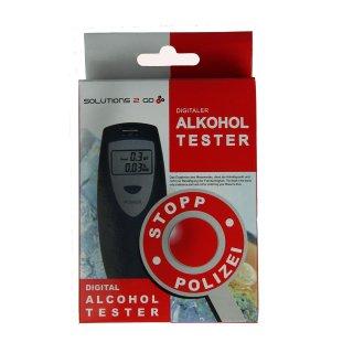 Digitaler Alkoholtester schwarz