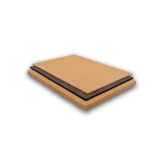 Korkplatten in Natur und Mocca 456 x 610 mm verschiedene Stärken