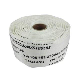Gewebtes Gurtband, Länge 250 m, Breite 30/32 mm, Farbe: weiß