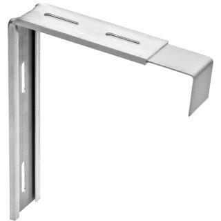 greenteQ Variohalter Alumium Tropfkante 40 mm verschiedene Ausführungen